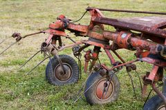 Equipment for agriculture Royalty Free Stock Photo