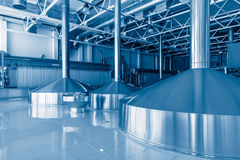 Equipment for brewing beer. Stock Images