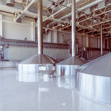 Equipment for brewing beer. Royalty Free Stock Photography