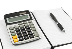 Equipment for the calculations Royalty Free Stock Images