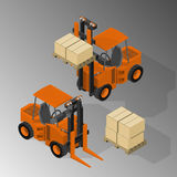 Equipment for cargo delivery. Royalty Free Stock Photos
