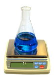 Equipment of chemical laboratory Stock Images