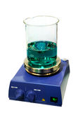 Equipment of chemical laboratory Royalty Free Stock Photo