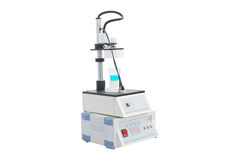 Equipment of a chemical laboratory Stock Image