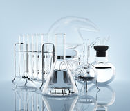 Equipment for chemistry experiments Stock Photo