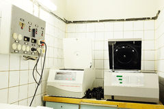 Equipment for conducting experiments Stock Image