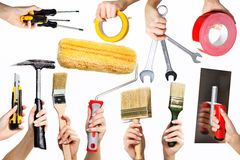 Equipment of a craftsman Stock Image