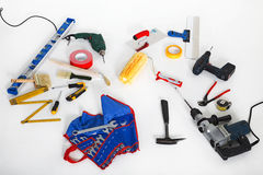 Equipment of a craftsman Royalty Free Stock Photo