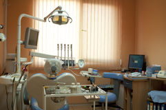Equipment in the dental office Royalty Free Stock Photography