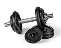 Equipment dumbbell Royalty Free Stock Image