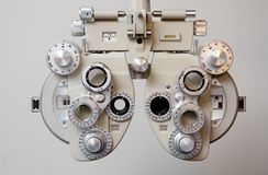 Equipment for Eye Exam Royalty Free Stock Photography