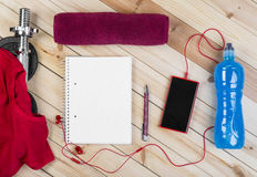 Equipment For Fitness. Stock Photography