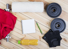 Equipment For Fitness. Royalty Free Stock Images