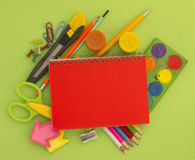 Equipment For School Royalty Free Stock Image