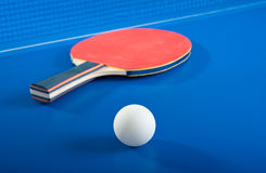 Equipment For Table Tennis Royalty Free Stock Photography