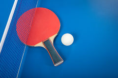 Equipment For Table Tennis Stock Images