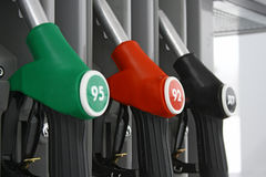 The equipment of fuelling station Royalty Free Stock Images