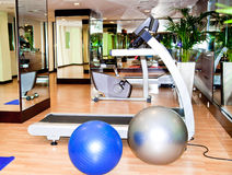 Equipment, gym apparatus Stock Image
