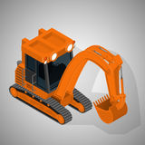 Equipment for high-mining industry. Royalty Free Stock Images