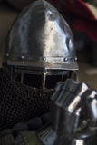 Equipment for HMB. Equipment for historical medieval battles Royalty Free Stock Image