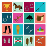 Equipment for horse riding Royalty Free Stock Image