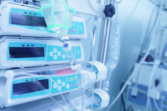 Equipment in the hospital for treatment Royalty Free Stock Photography
