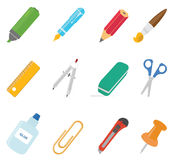 Equipment icons Royalty Free Stock Photo