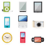 Equipment icons Royalty Free Stock Photography