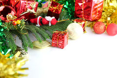 Equipment ideas of Christmas and New Year day. The image Equipment ideas of Christmas and New Year day Stock Images