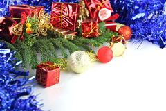 Equipment ideas of Christmas and New Year day. The image Equipment ideas of Christmas and New Year day Stock Image