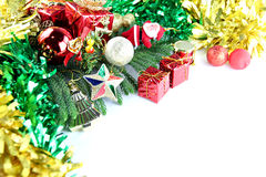 Equipment ideas of Christmas and New Year day. Equipment object image in ideas of Christmas and New Year day Stock Photos