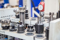 Equipment for Metalworking production royalty free stock photo