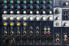 Free Equipment Mixer Sound On Studio Adjusting Record Stock Photography - 42032022