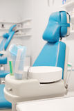 Equipment of a modern dental room Stock Images
