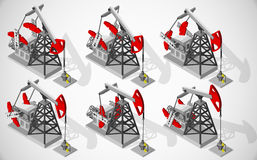 Equipment for oil and gas industry. Stock Images