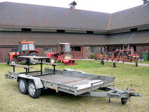 Equipment On The Farm Stock Photo
