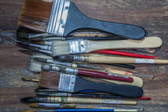 Equipment for painting and airbrush equipment - stock image Stock Image