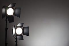 Equipment for photo studios Stock Photography