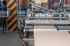 Equipment for the production of filters for cars Stock Photo