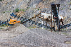 Equipment quarry Royalty Free Stock Photo