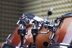 Equipment in recording studio Stock Photos