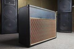 Equipment in recording studio royalty free stock photo
