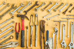 The equipment repairs. Royalty Free Stock Image