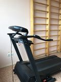 Equipment of the room of therapeutic physical training. Trainer treadmill Royalty Free Stock Image