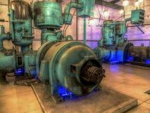 Equipment. Ruda Slaska, Poland - November 05, 2015:  Historical  equipment on exhibition in a coal mine Guido Stock Photography