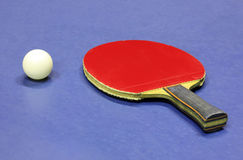 Equipment for table tennis Royalty Free Stock Photos
