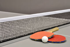Equipment for table tennis Royalty Free Stock Photo