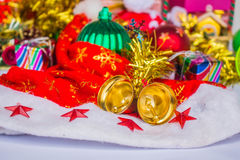 Equipment used in Christmas Royalty Free Stock Photo