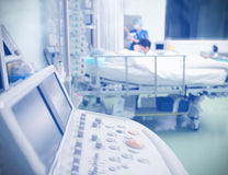Equipment ward patient in the ICU Royalty Free Stock Photography