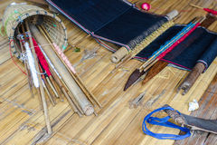 Equipment weaver karen. Royalty Free Stock Photo